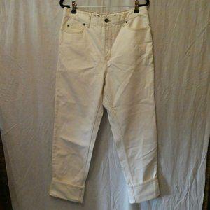 Land's End White Jean 10